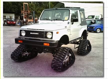 RePower your Suzuki Samurai with a V6 or V8 Engine Conversion from